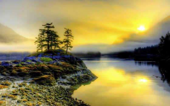 рассвет, горах, разрешениях, разных, muslims, туман, солнца, реке, jesus, christ,