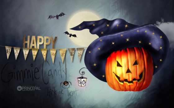 halloween, desktop, happy