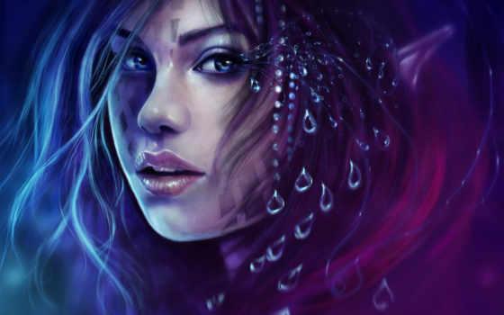глаза, fantasy, изображение, girls, glance, desktop, фото, эльфы, free,