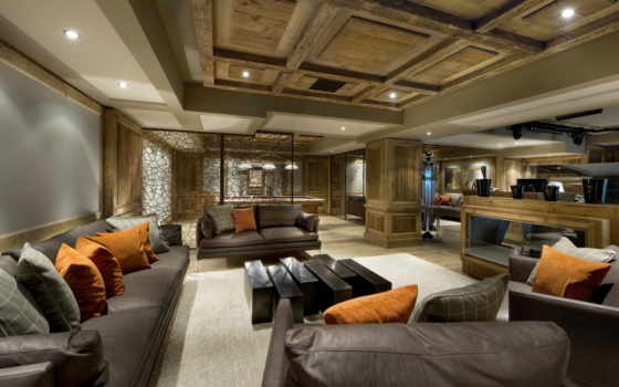 chalet, courchevel, luxury