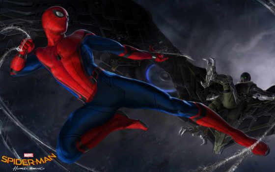 паук, мужчина, homecoming, гриф, злодей, июл, комикс, marvel, will,