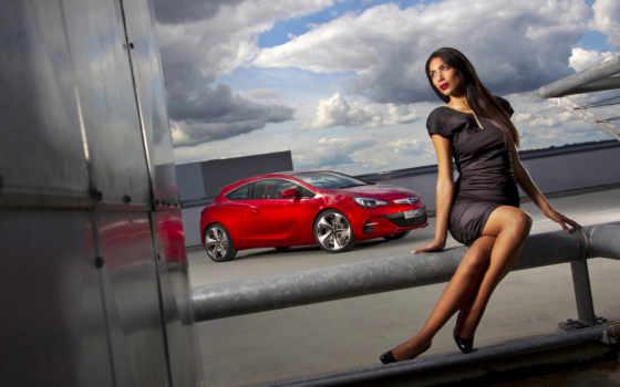 devushki, авто, девушка, автомобиля, банка, автомобилями, платье, красного, car,