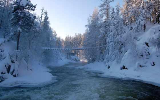 national, oulanka, trail, park, медвежий, parkii, route, northern, финляндия