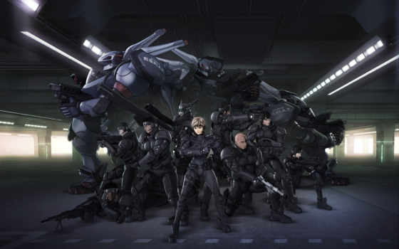 anime, aria, военные