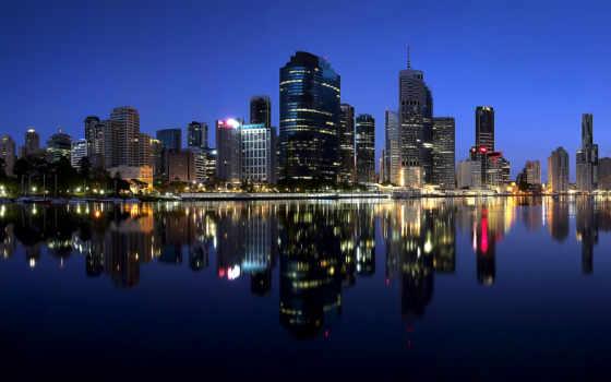 австралия, город, brisbane