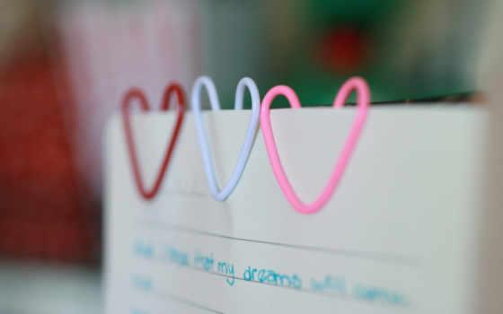 сделать, фон, руками, своими, скрепки, сердце, бумага,