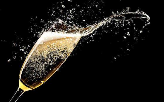 шампанское, black, напиток, брызги, splash, сток, shine, gazirovannyi, glass, праздник, rendering
