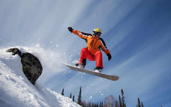 снег, сноуборд Фон № 21996 разрешение 1920x1080