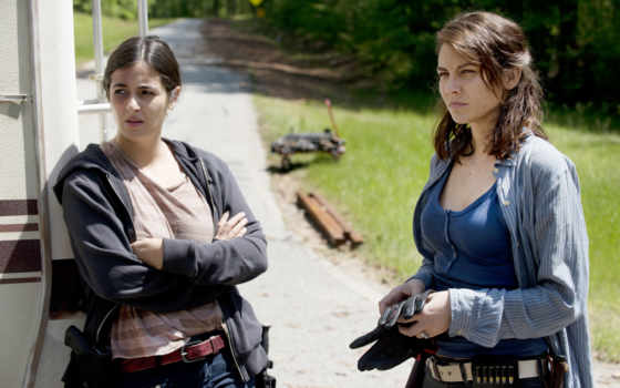 выгул, season, dead, maggie, greene, episode,