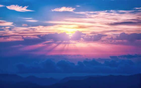 clouds, небо, pin