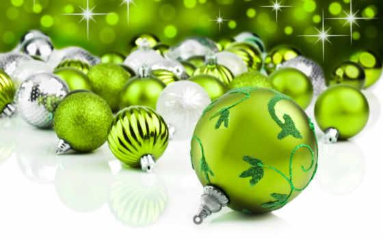 natal, verde, bolas, fundo, stock, imagens, estrela, enfeites,
