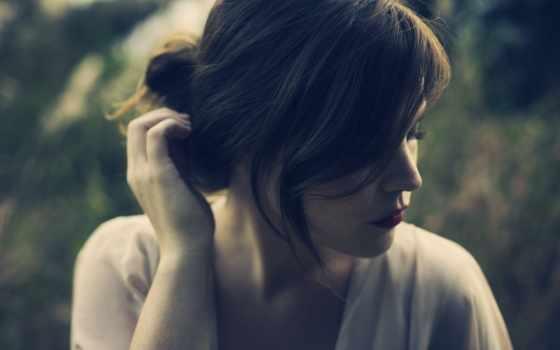 девушка, волосы, настроения