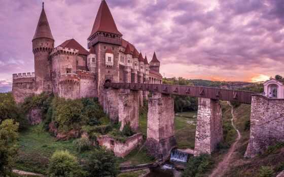 castle, казань, вакансия, hunedoara, небо, мост, corvin, работать, korvin, fresh