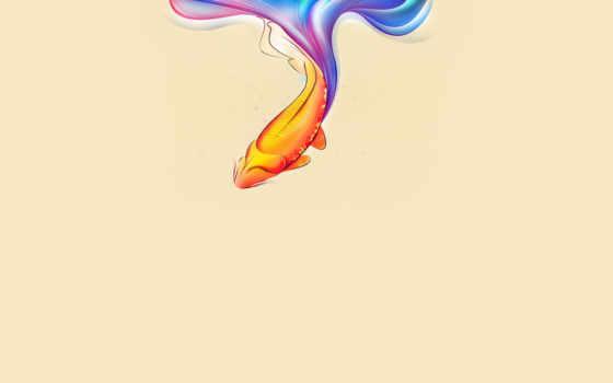 рыбка, золотая
