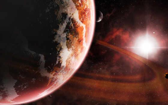 космос, планеты Фон № 24193 разрешение 1920x1036