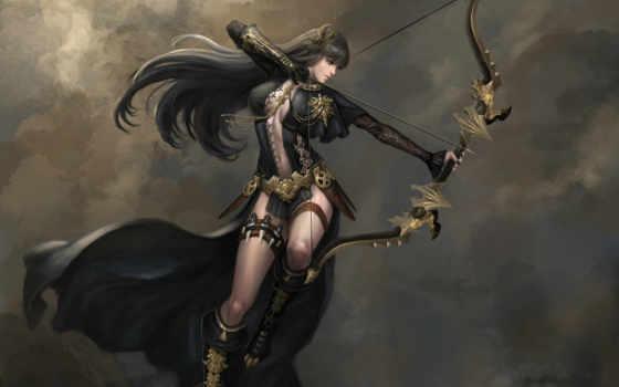 art, fantasy, archer