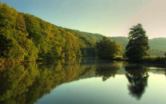 природа, река, trees Фон № 151076 разрешение 2560x1600