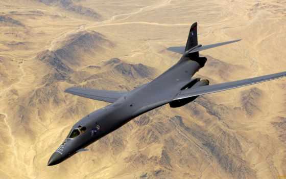 сша, бомбардировщик, стратегический, bbc, lancer, бомбардировщико, самолёт, rockwell, лансер, рф,