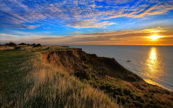 закат, obryt, море, природа, rook, красивый, edge, пшеница, рассвет, taman, sun