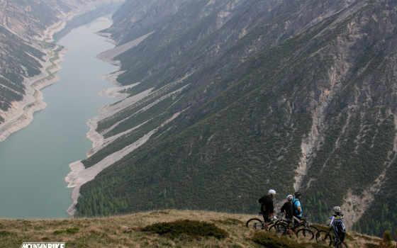 велосипед, горы