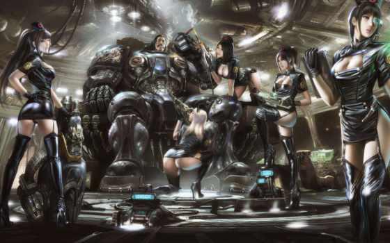 трехо, дэнни, marine, корабль, космос, starcraft, девушки, machete, trejo, медсестры,