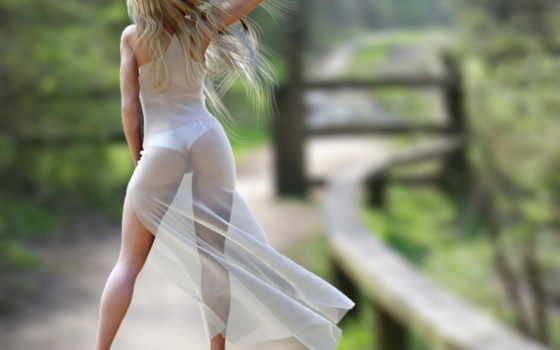 девушка, спина, платье, без лица