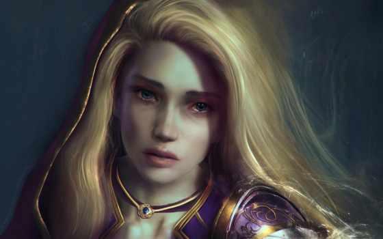 warcraft, world, proudmoore, jaina, gnome, artwork, phoenix,