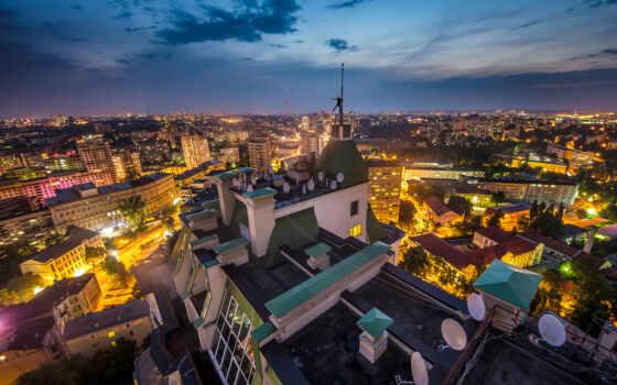 киев, ukraine, ночь, mariana, аватар, взгляд, skyline, вектор, город
