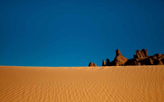 пустыня, песок