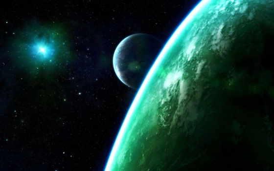 космос, планеты, фэнтези