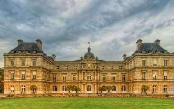 париж, gardens, город, luxembourg, garden, паркс,