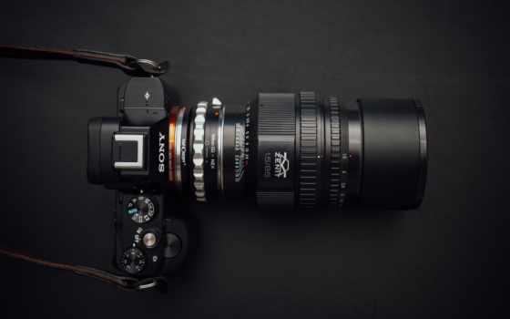 фотоаппарат, sony, фото, appareil, free, ecran, sur, fond,