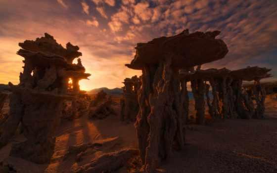 пустыни, rock, песок, автомобили, картинка, космос, formations, самые,