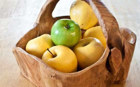 там, плод, seedless, яблоки, корзина, еда,