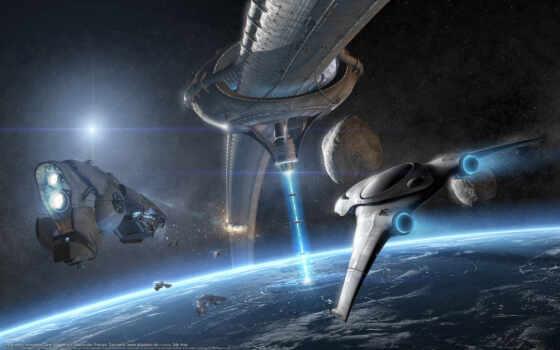 корабли, космос, корабль