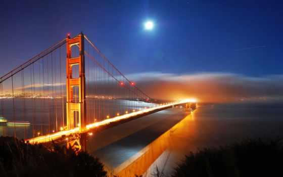 города, gate, мост