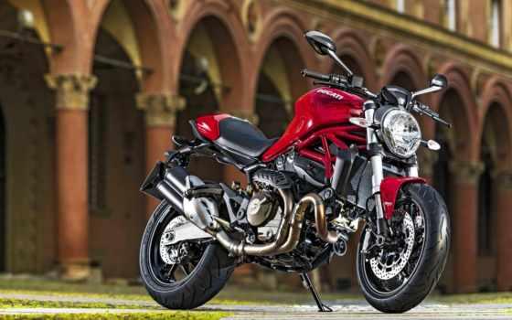 ducati, monster, мотоцикл