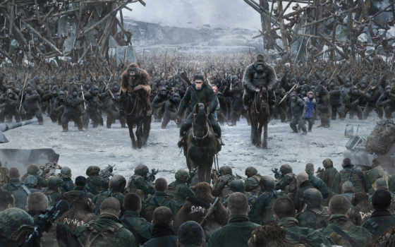 apes, planet, war, trailer, new, movies,