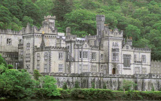 ireland, kylemore, galway, abbey, замки, ирландии, connemara, irlanda, county, замок, castle, you, this, замка, download,