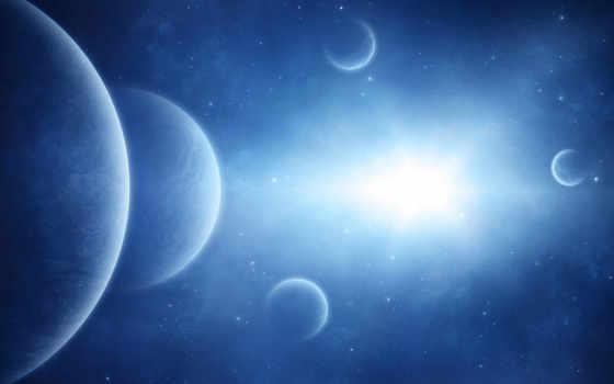 космос, космоса, фотографий, планеты, когда, blue,