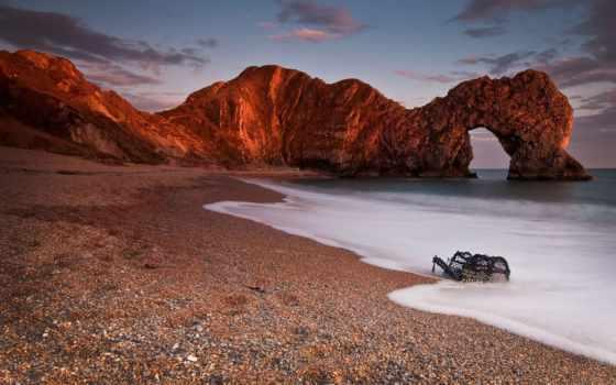 море, скалы, арка Фон № 73397 разрешение 1920x1200