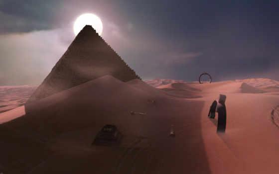 пустыня, ночь, пустыне