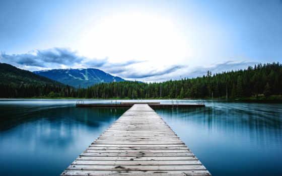 док, cool, побережье, whistler, mountains, desktop,