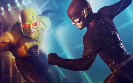 flash, comics, reverse, супергерой, стрелок,