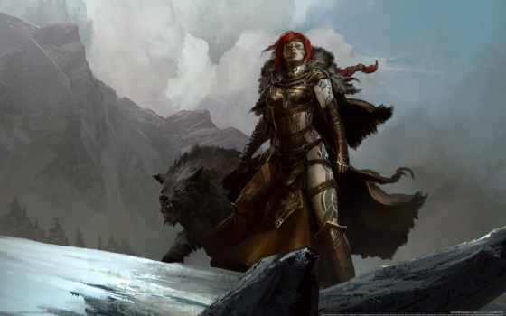 guild, wars, norn, женский, доспех, фронтовой, kotaki, характер, страница, kekai,