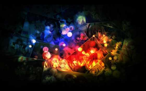 clannad, bokeh, free, фон, desktop, images, cool,