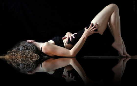 девушка танцовщица