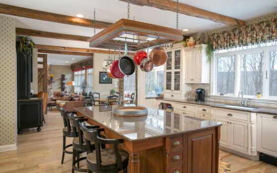 кухни, интерьеры, дома