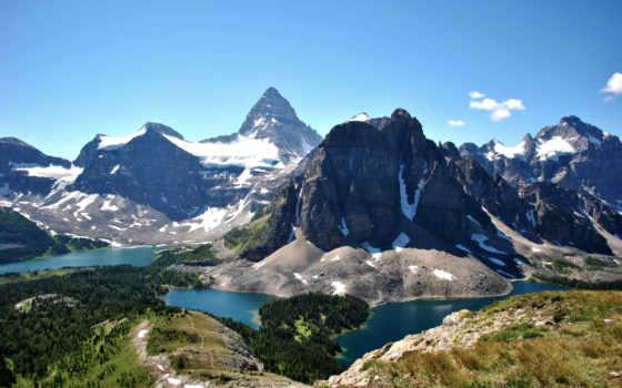 горы, вид, landscape