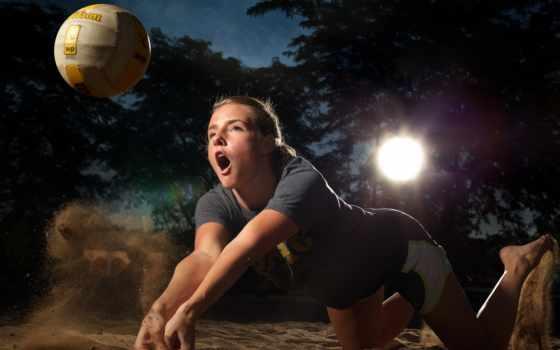 fondos, pantalla, deportes, волейбол, deporte, волейбол, gratis, descargar, chica,
